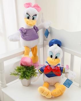 Donald duck plush toy daesy princess lovers plush doll birthday gift doll toy