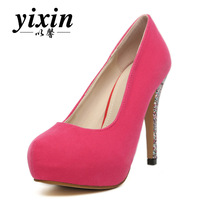 2013 spring and autumn princess shoes high-heeled platform shoes candy color thin heels women's shoes