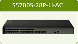 24 ports 10/100/1000M Gigabit ethernet switch HUAWEI S 5 7 0 0 S - 2 8 P - L I -AC(China (Mainland))