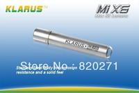 KLARUS MiX6 Stainless Steel Cree XP-G R5 LED Mi X6 SS AAA Cree LED Flashlight free shipping