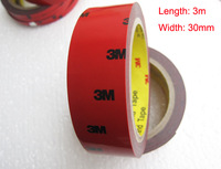 1 Roll 3m*30mm 3M Auto Truck CAR Acrylic Foam Double Sided Attachment Extremely Strong Adhesive Tape