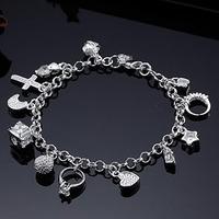 Free shipping wholesale woman bracelets 925 silver fashion bracelet fashion jewelry