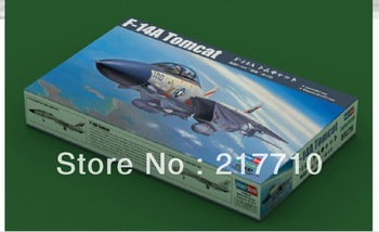 free shiiiping Hobby Boss model 80276 1/72 F-14A Tomcat model kit good quality