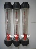 Freeshipping water rotameter, liquid flow meter 1pcs/lot LZS-40