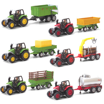 ETAM 4109 tractor toy car series alloy car model toy independent packing