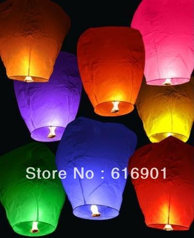 Oval sky lantern(China (Mainland))