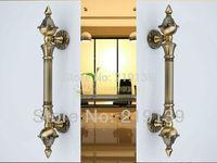 European Antique Classics Metal Zinc Alloy Grand Glass Door Handle  Interior Doors Pull Furniture Hardware puxadores de porta