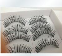 Free shipping 30 Pair Thick Long False Eyelashes Eyelash Eye Lashes Voluminous Make up wholesale 100%handmade top fashion