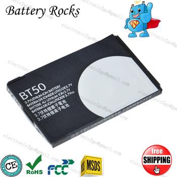 BT50 battery for Moto Q,Q8,A1200,A630,A732,BA250,C160,C193,C290,C957,C975,C980,E1000,E1070, EM330 ROKR,F6,F7,KRZR K3,Maxx V1100