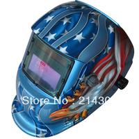 Li battery +solar battery supply outside control auto darkening/shading welding helmet/welder goggles/weld mask  free shipping
