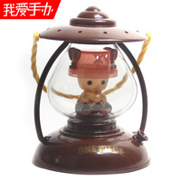 Hand-done vintage lamp style nightlight can type mini table lamp