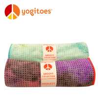 Yogitoes symphony silica gel yoga towel yoga blanket double yoga mat towel thickening
