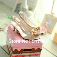 free shipping 33- 46 2014 spring and autumn new arrival classic all-match strap female sandals customize plus size