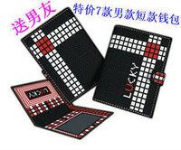 Cutting cross stitch wallet short design Men kit wallet lucky cross