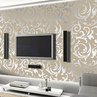 Free Shipping 3D Wallpaper 10M * 0.53 M Promotional Price Pvc Wallpaper, Home Decoration Good Choice
