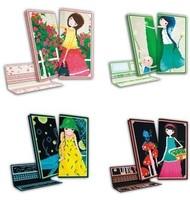Cutting cross stitch wallet long design Women kit fall in love series