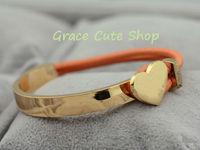 2013 New Fashion Bracelet Branded Jewelry Free Shipping Nice Quality Original Package  #C08-Orange