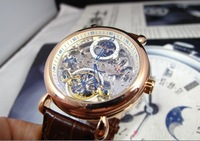 2013 new moon phase watch tourbillon watches automatic mechanical watches