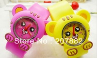 500PCS/LOT ! Fashion Hello Kitty Silicone Snap Watch for kids Cartoon Slap Lovely Wrist Watch A2356 Free Shipping by DHL
