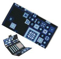 Clipping tri-fold wallet long design kit xq035