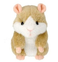 Hight quality Russian speaking hamster ,talking hamster,repeat words and dancing,Plush speaking toy ,with original box,best gift