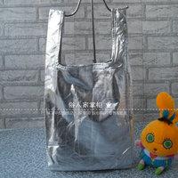 Super super plan rootote eco-friendly bag shopping bag Medium 110 silver