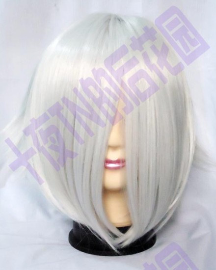 Silver high temperature - tn big , ghost , cos wig(China (Mainland))