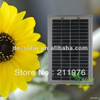 Free Shipping--Mini small 5W 18V solar PV module for DIY power system in stock
