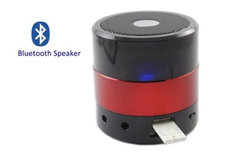 2013 Newest Bluetooth Remote Control 15M Portable USB Mp3 Music Player Speaker Music With LED flashing light