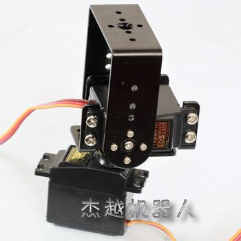 Mechanical arm pan and tilt mount steering gear mount sg5010 steering gear