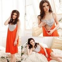 Spring and summer fashion maternity clothing maternity dress one-piece dress nursing dress summer big nurse dress 0807