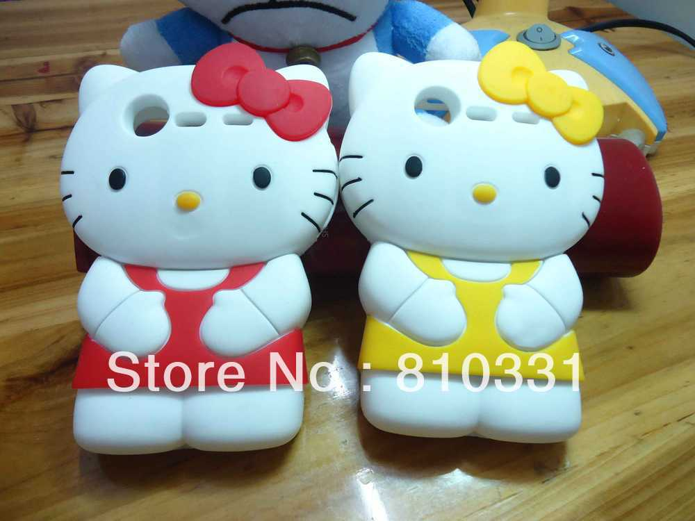 Free EMS DHL! 2012 New Arrival Cute Cartoon 3D Bowknot hello kitty Case Cover For HTC Incredible S S710E G11,50pcs/lot(China (Mainland))