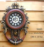 Fashion personality vintage watches and clocks fashion wall clock full mute wall clock 23