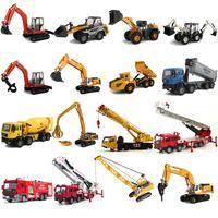 Alloy engineering car toy excavator mining machine car model car