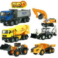 Truck crane forkfuls full alloy engineering car toy cars car model