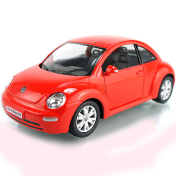 2013 Fashion Luxury Kinsmart soft world Large vw beetle newbeetle alloy car model hummer toy