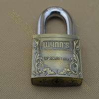 G4060AF 60mm 3 Alloy bullets Key zinc alloy padlock security lock