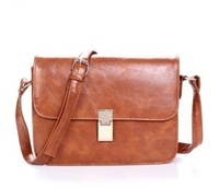 2013 spring new arrival vintage cute-type the gossip small messenger bag Women candy color jelly bag female