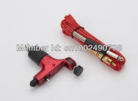 Hot Pro Spektra halo Rotary Gun Tattoos Machine Red Color & RCA Clip Cord Freely For Tattoo Supply Hot