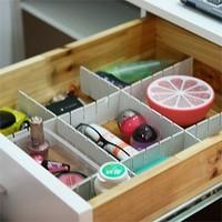 New creative multifunction DIY storage drawer clapboard free shipping (6 pieces/set)