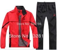 Sportswear men suit casual two-piece 6 colors