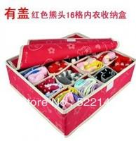 Antibiotic 2174 16 lid underwear socks storage box panties finishing box multicolor