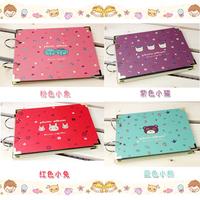 3451 diy photo album paste type handmade photo album photo album gift animal series