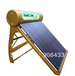 Free shipping !Lucky Solar Energy/Solar water heater/ Non-pressrized/Vacuum tubes/120L(China (Mainland))