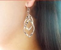 Xy162 accessories fashion Women ear hook wave alloy earrings all-match classic earring