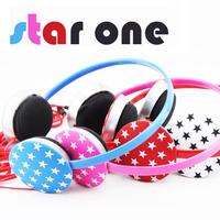 1219 one star earphones headset earphones fashion earphones computer earphones mp3