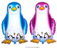 Free Shipping Penguin Helium Balloons,foil balloons