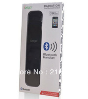 5 x Bluetooth Wireless Anti-Radiation Handheld Handset for iPhone 5,4S,4G,3GS Black Color Headset