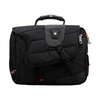 Swiss gear laptop bag sa9527 shoulder bag laptop bag portable swiss army knife 14 15 male buy it now!