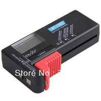 Free shipping Portable Digital Battery Volt Tester for Button Cell Battery AAA/AA/9V/C/1.5V